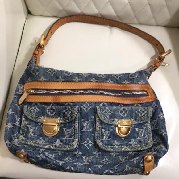 Louis Vuitton Handbags - BEST PRICE Louis Vuitton Monogram Baggy Denim Bag d33f824bea6f4